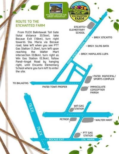 Welcome To Gawad Kalinga - Bocaue map